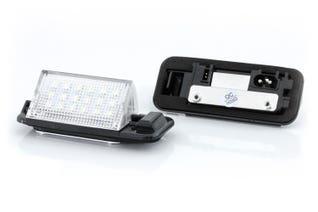 Canlamp LED skiltlys sett (BMW E36)