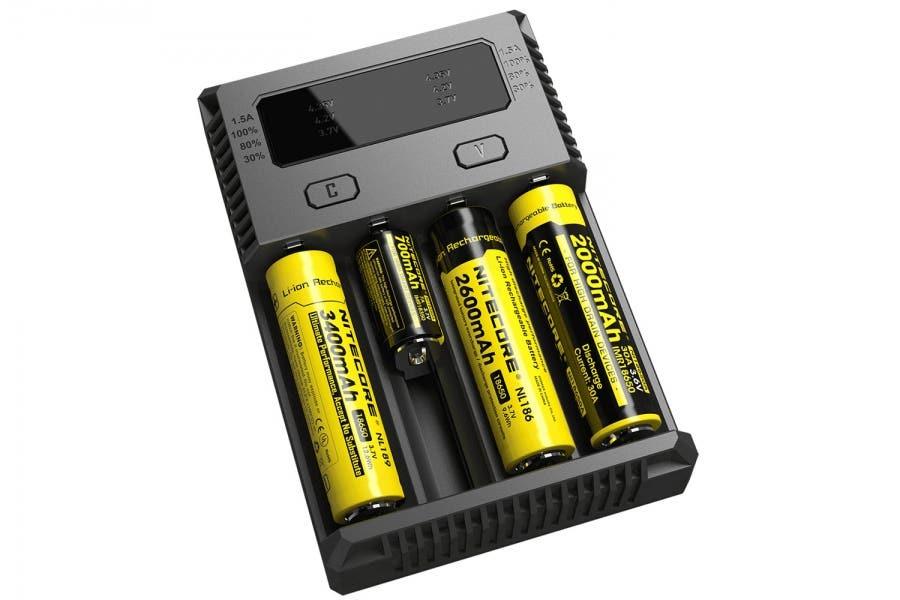 Nitecore batterilader (Dobbel lader)