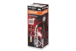 Osram Truckstar Pro H3 24v halogenpære