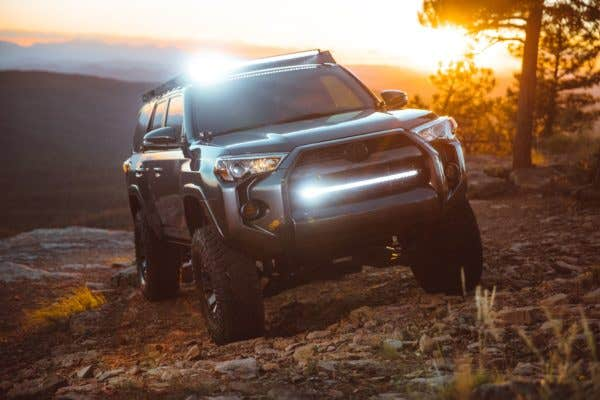 Rigid Industries LED lys – made in the USA