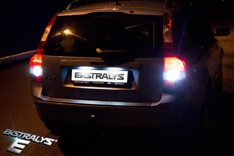 LED lys - hvordan oppgradere bilens ryggelys?