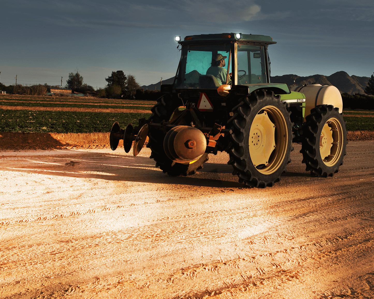 LED arbeidslys til traktor